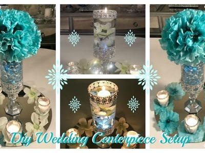 DIY - WEDDING CENTERPIECE  IDEAS - (WEDDING SERIES PART 3)
