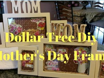 Dollar Tree DIY Mother's Day Frame
