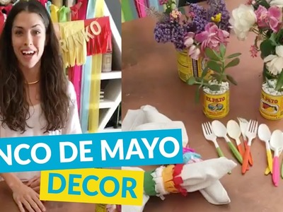 Easy Cinco De Mayo Party DIY Ideas!