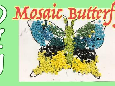 FUN DIY FOR KIDS - Mosaic Butterfly