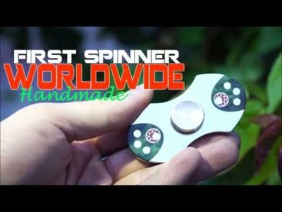 How to make a 100$ Fidget-Spinner | Aluminium feat. Stabl. Wood |  DIY