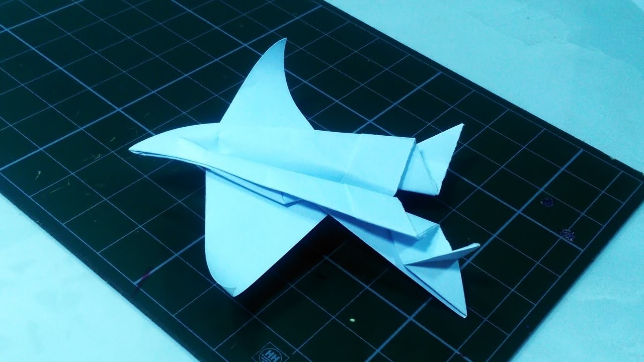 how to make a paper plane 1