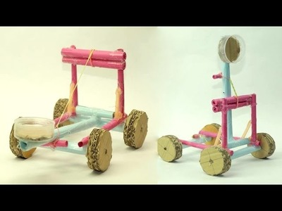 How to Make catapult Weapon with Paper - Baahubali Weapon