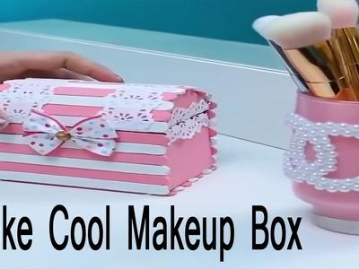 How to make cool Makeup Box