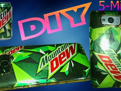 How to make Phone Case with DEW TIN DIY