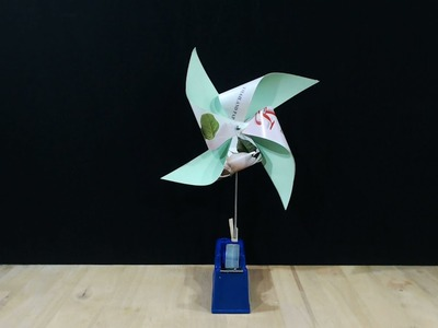 How to make wind vane project using wood and paper | Toys king