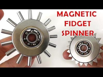 Magnetic Fidget Spinner , DIY Hand Spinner Toys