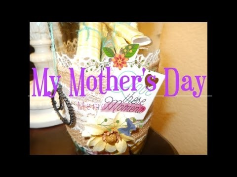 My DIY Memory Jar For Mother's Day!