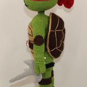 Ninja Turtle RAPHAEL - Pdf Pattern