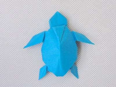 PAPER TURTLE   ORIGAMI TURTLE (Akira Yoshizawa) - Remake