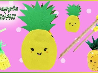 Pineapple Kawaii DIY | Cute Kawaii Pencil Topper | Pineapple Pencile Case