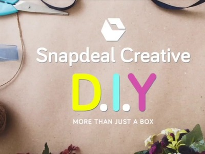 Snapdeal Creative DIY 2 - Ribbon Holder from Vermello Box