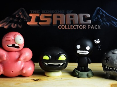 THE BINDING OF ISAAC COLLECTOR PACK #1 | DIY Cold Porcelain. Polymer Clay. Porcelana Fría Tutorial