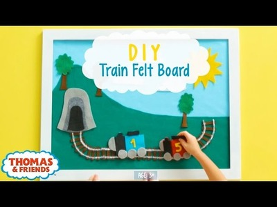 Thomas DIY Felt Board for Kids! | Thomas & Friends Crafts | Thomas & Friends