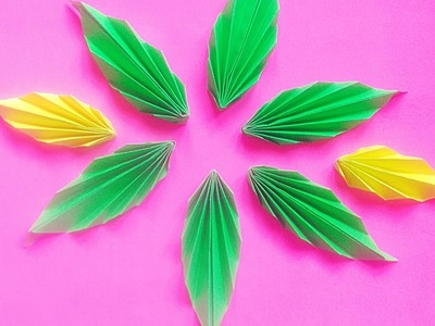 Tutorial- Easy and simple paper leaf