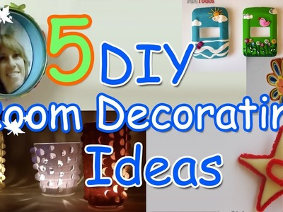 5 DIY Room decorating Ideas - Ana | DIY Crafts