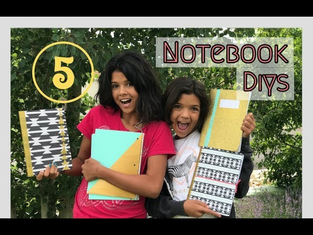 BACK TO SCHOOL DIY HACKS | NOTEBOOK MAKEOVER