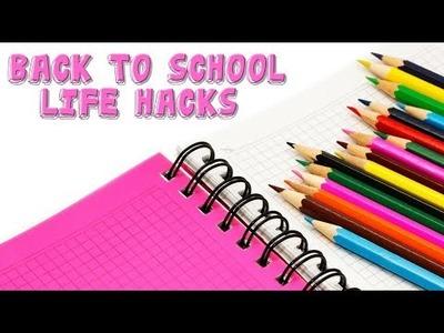 Back to school life hacks   DIY School Supplies   Maison Zizou