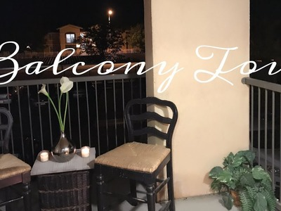 Balcony decorating Ideas & Tour| small Spaces| DIY| A Summer Night