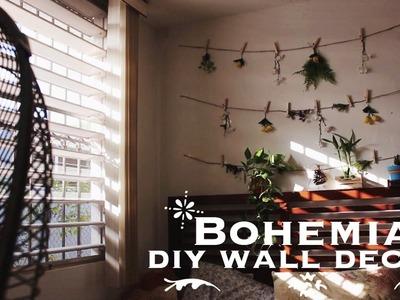 Bohemian diy wall decor