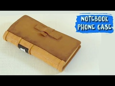 CELL PHONE CASE AS A BOOK DIY - How to make PHONE CASES