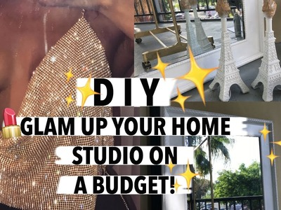 ☆ D.I.Y GLAM HOME DECOR ☆