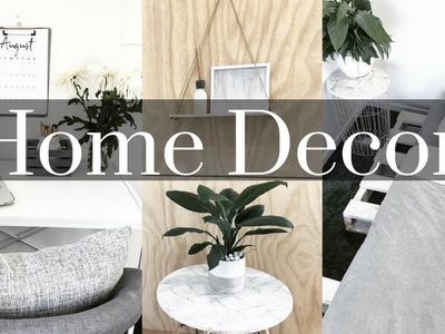 DIY AFFORDABLE HOME DECOR IDEAS + Kmart tricks