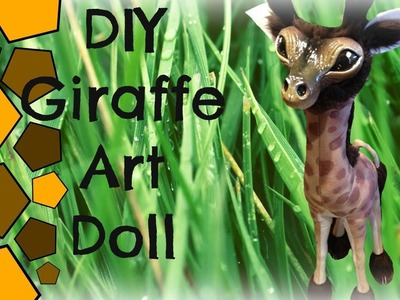 DIY Baby Giraffe Art Doll Plush