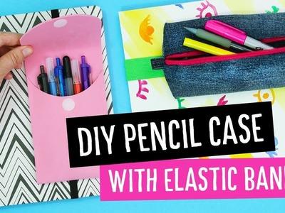 DIY Back to School Pencil Case with Elastic Band | Sea Lemon