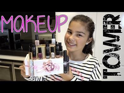 DIY Birthday Present | Makeup Tower