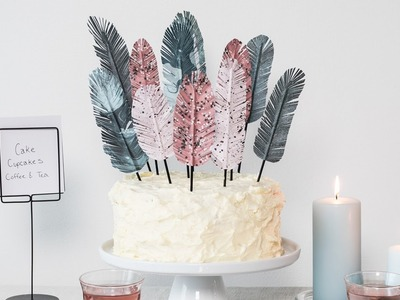 DIY : Cake and table decorations by Søstrene Grene