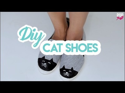 DIY Cat Shoes - POPxo Fashion