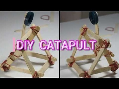 Diy Catapult With Popsicle Sticks | Popsicle Sticks | Wooden Catapolt | Million Dollar Crafts