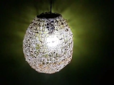 DIY Crafts: Hot glue Balloon Lamp | DIY Decorations