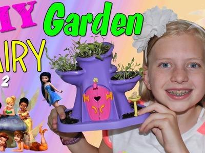 DIY Fairy Garden - Indoor Gardening with an Enchanted Fairy Garden