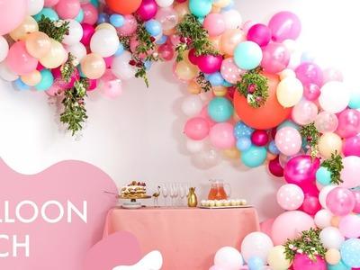 DIY Floral Balloon Wedding Arch   Makeful