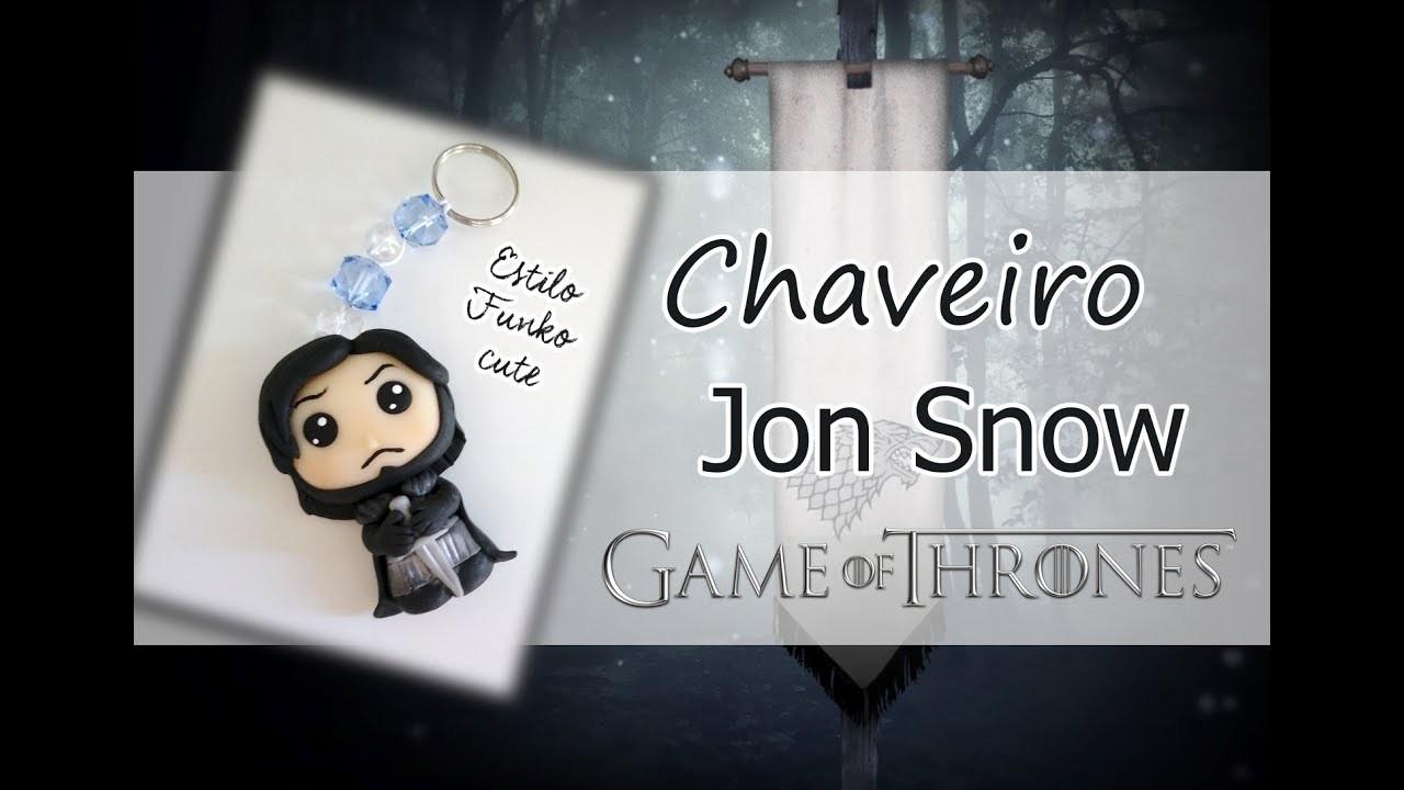DIY -  Funko biscuit Jon Snow - Série Game of Thrones