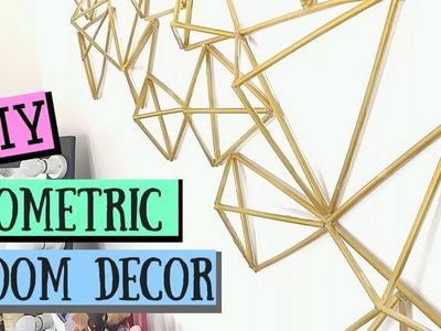 DIY GEOMETRIC Room Decor   Pinterest Himmeli Decor   Lolly Isabel