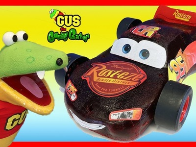 DIY GIANT GUMMY LIGHTNING MCQUEEN Cars 3 Candy! How to make Jello gummies for kids