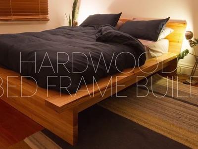 DIY Hardwood Bed Frame Build
