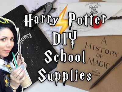 DIY HARRY POTTER SCHOOL SUPPLIES ⚡️ PENCIL CASE | PENCILS | BOOK COVERS | NOTEBOOKS