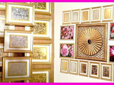 DIY Home Decor: Mercury Glass Wall Frames