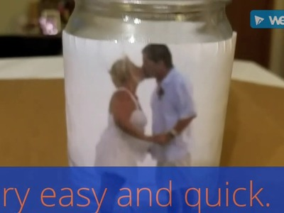 DIY How to transfer picture to glass.