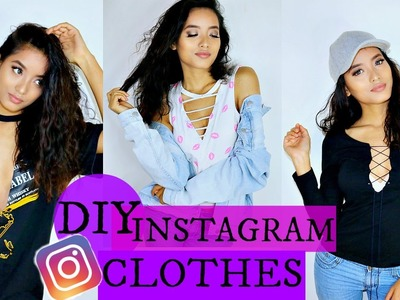 DIY Instagram Clothes Life Hacks How To Make Your Clothes New Again