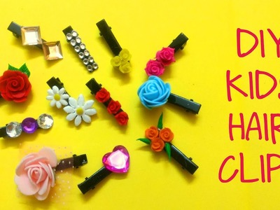 DIY KIDS HAIR CLIPS