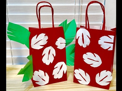 Diy lilo and stitch Gift Bags