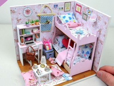 DIY Miniature Beautiful Doll House | Toys for kids - GearBest