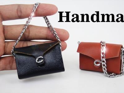 DIY Miniature Realistic  Bags #3 -  Handmade Dollhouse