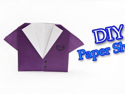 DIY: Origami Shirt | Easy origami