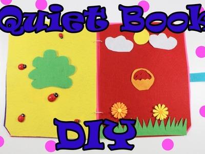 DIY Quiet Book For Kids | Felt Book | Homemade Quiet Book